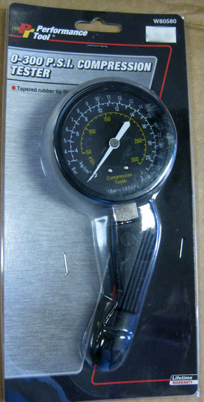 0-300 PSI compression tester