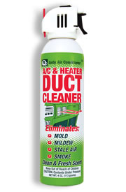 Auto Air Conditioner A C And Heater Duct Cleaner