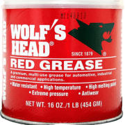 wolf's head red grease 16oz