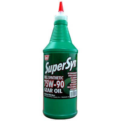 super s supersyn 75w90 gear oil