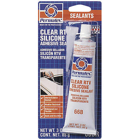 permatex clear rtv silicone 3oz