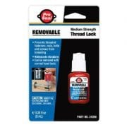 pro seal removable thread lock .20 oz
