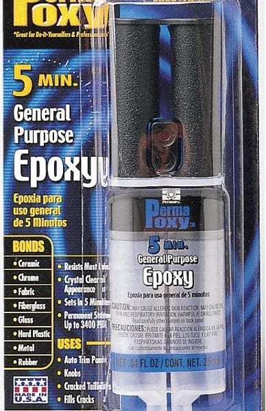 permatex permapoxy 5min general purpose epoxy .85 oz