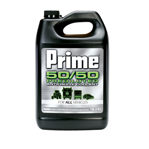 Prestone Prime All Vehicle 50/50 Antifreeze - 1 Gallon