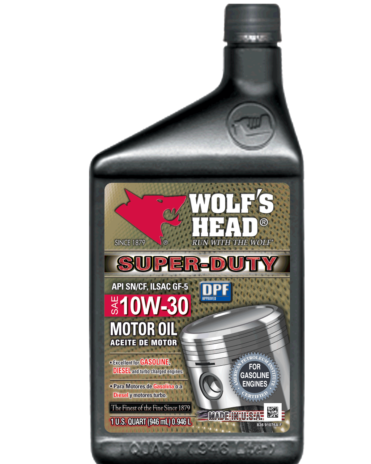 30 Emailoils Contact Usco Ltd Mail: Wolf's Head Super Duty 10W-30 Oil
